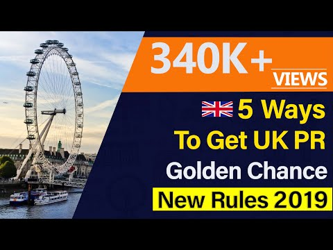 How To GET UK PR Quickly 2019 | UK Residency Latest Rules | Student Forum