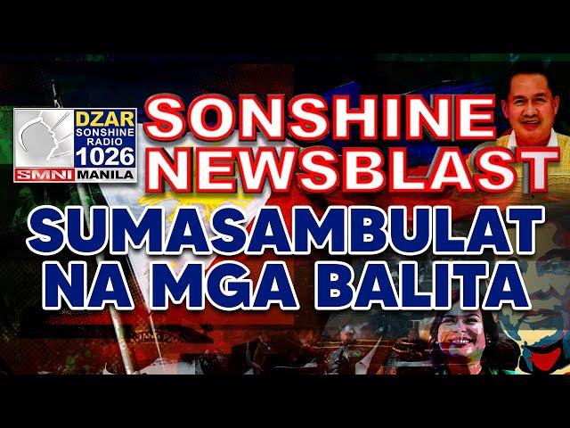SUMASAMBULAT NA MGA BALITA | Sonshine Newsblast | March 4, 2021