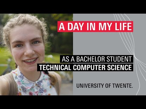 Student Vlog Of BSc Technical Computer Science Student Heleen