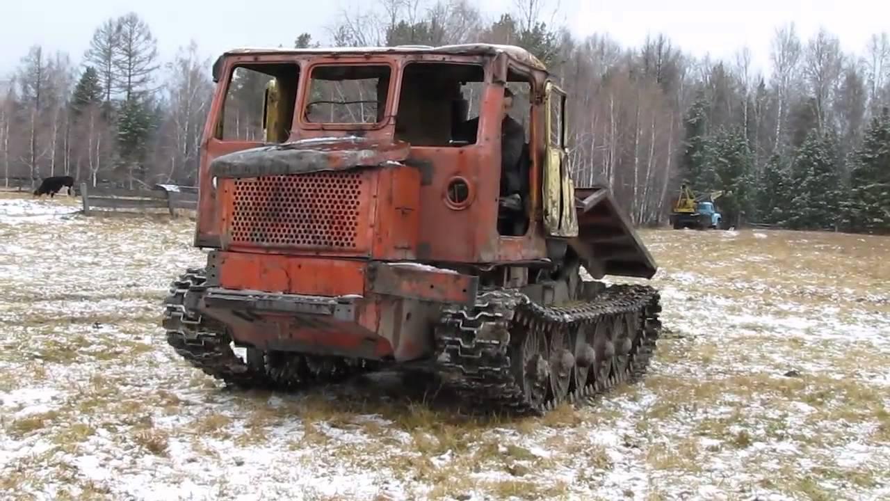 трактор т4м схема