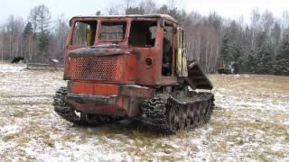 Трелевочный трактор TT4