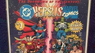 One Minute Comic Talk Episode 4 DC Versus Marvel Comics #1