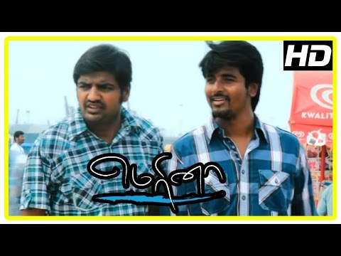 Marina Movie Scenes | Sivakarthikeyan Intro | Boys fight with Pakoda Pandi | Pakoda Pandi feels bad