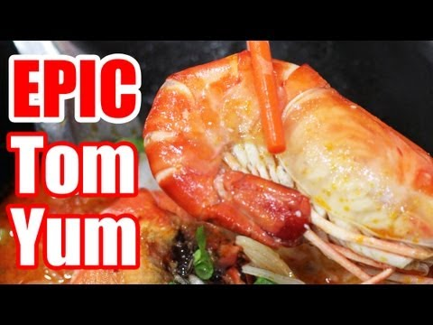 Best in Bangkok - EPIC Tom Yum Goong Noodles at P'Aor ...