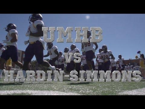 #1 UMHB vs #5 Hardin-Simmons 2017