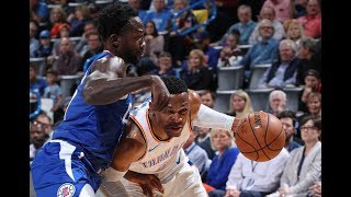 Russell Westbrook Heated After Pat Beverley Dives at Westbrook's Knees