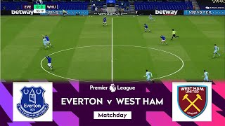 Everton vs West Ham United EPL Matchday 17 English Premier League 2020 21