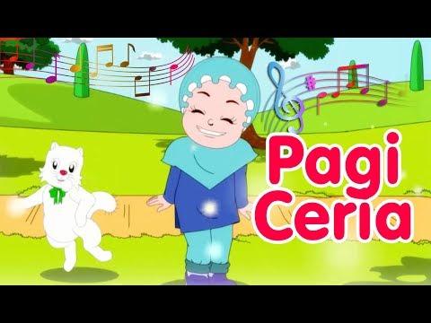 Pagi Ceria | Diva Bernyanyi | Lagu Anak Channel