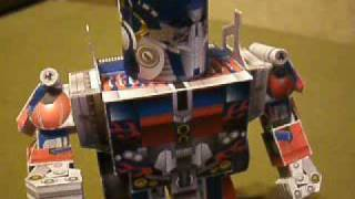 Papercraft Movie Optimus Prime