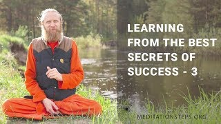 Learning from the Best. Secrets of Success - 3