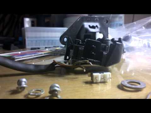 Alfa Romeo 147 - Change boot light switch