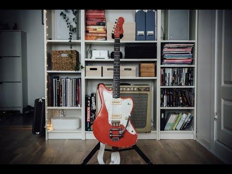 TMG Guitar Co. Ronnie Scott (demo)