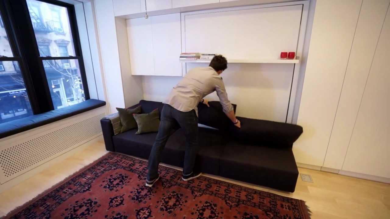 Otto Stanze In 40 Metri Quadrati Il Loft Trasformista Youtube
