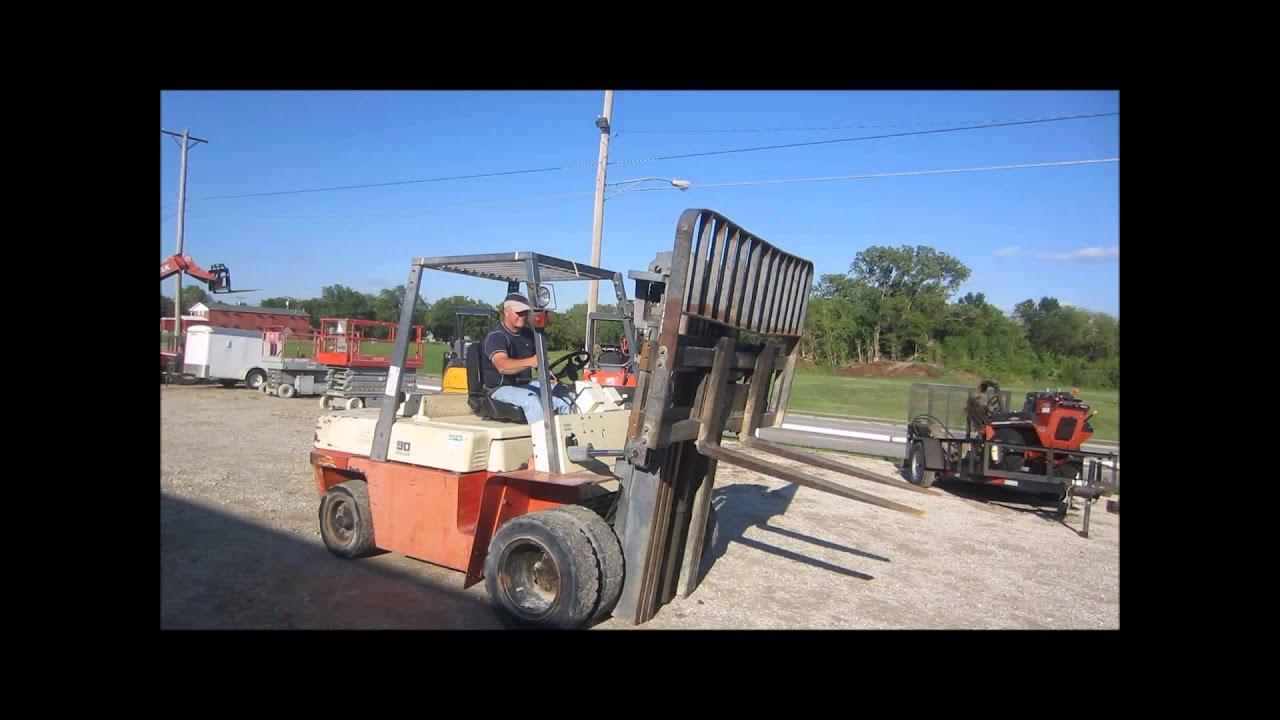 Nissan 90 Forklift For Sale