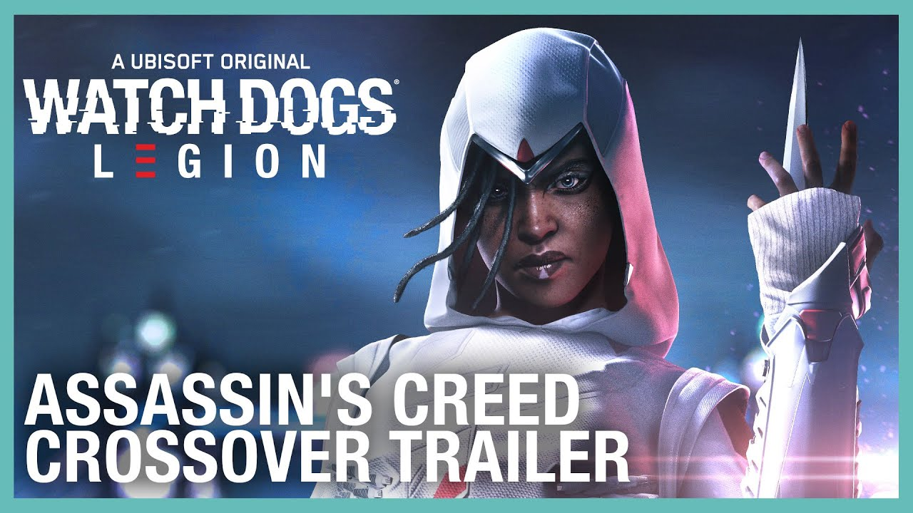 Watch Dogs: Legion: Assassin's Creed Crossover Trailer | Ubisoft