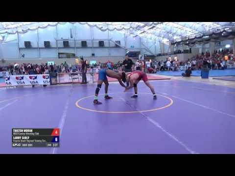 70 Round of 128 - tristen moran (OKST/Cowboy WC) vs. Larry Early (Virginia Beach Regional Trainin...