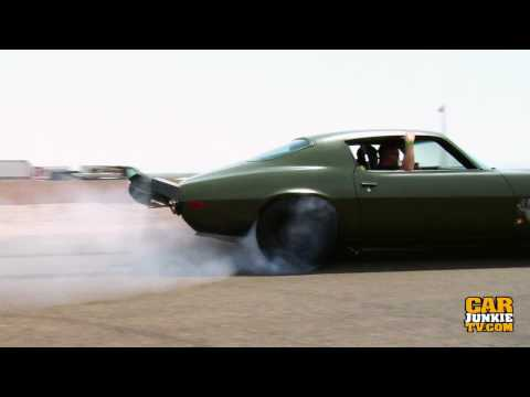 1973 Chevy Camaro (The F-BOMB) 1000 Ft Burnout