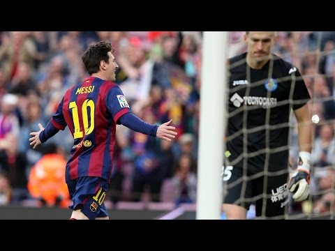 Best Panenka Penalty Ever ● Lionel Messi Brilliant Panenka Penalty Goal vs Getafe CF ||HD||
