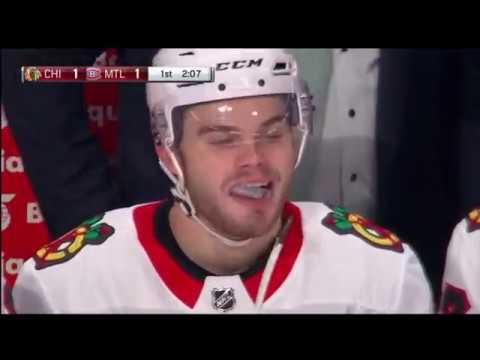 ALEX DEBRINCAT - 1st Career NHL GOAL (Oct 10) vs Montreal