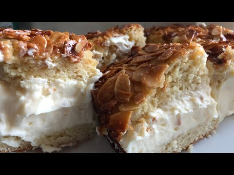 German Bienenstich (Bee Sting Cake) - Episode 367 - Baking with Eda