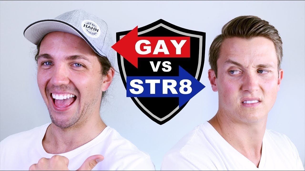 Gay and straight roommates do it in the ass