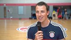 FC Bayern Handball - Tag der öffenen Tür mit Dominik Klein