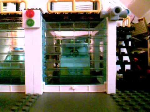 Lego Garage Door Test Youtube