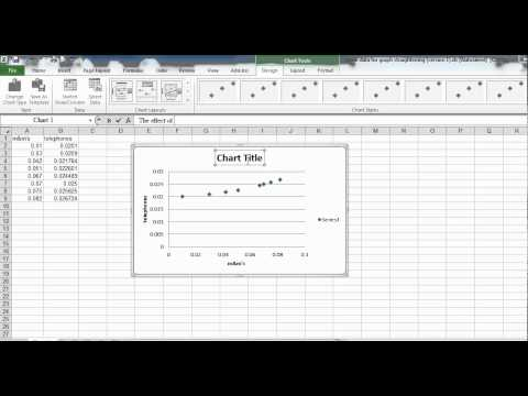 how to make a graph on excel mac 2010