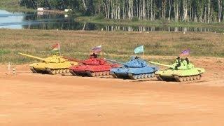 Russia hosts tank biathlon