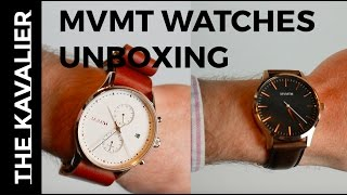 MVMT Unboxing - These watches any good?