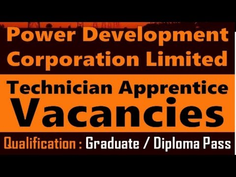 jobs Vacancy in  Power Development Corporation Limited (PDCL) | Govt Jobs | Apply Now !!