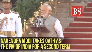 Watch: Narendra Modi takes oath as the Prime Minister of India for a second term