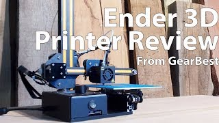 Is This The best 3D printer? - The Ender 3D Printer From GearBest (Review)