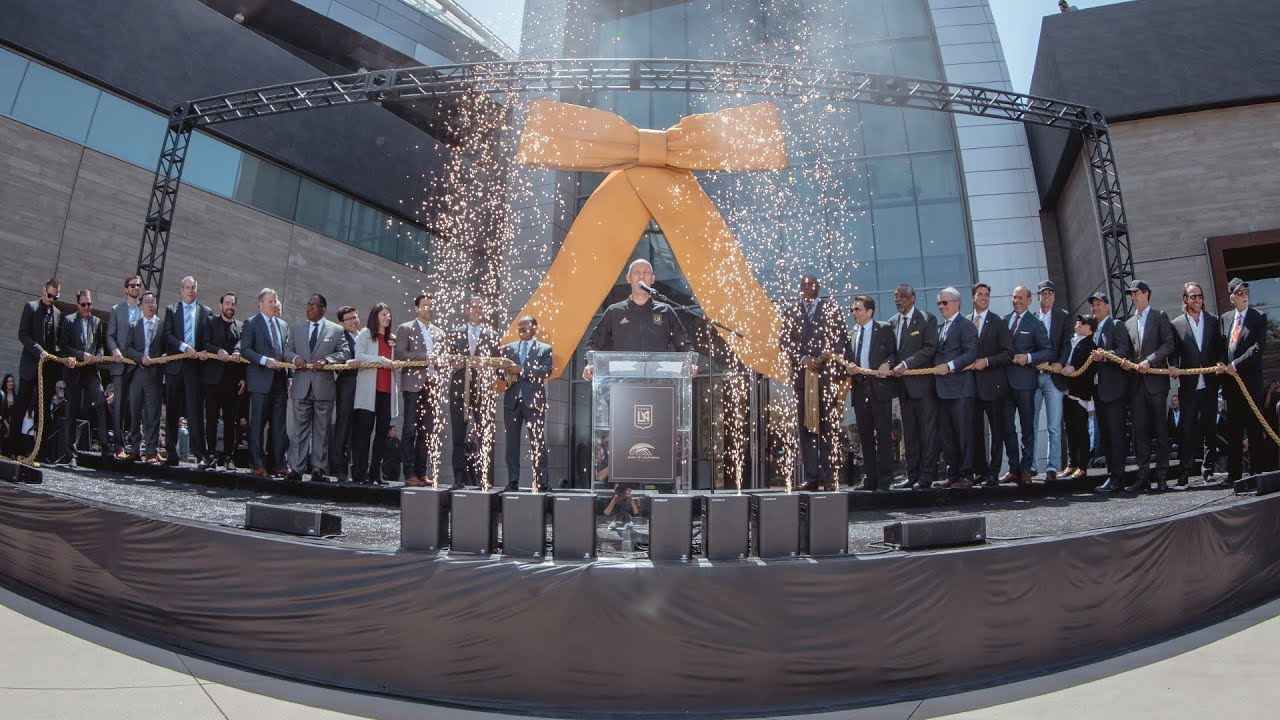 Banc of California Stadium Ribbon Cutting Ceremony