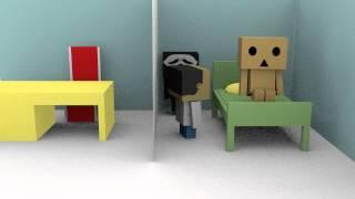animasi pendek blender - danbo