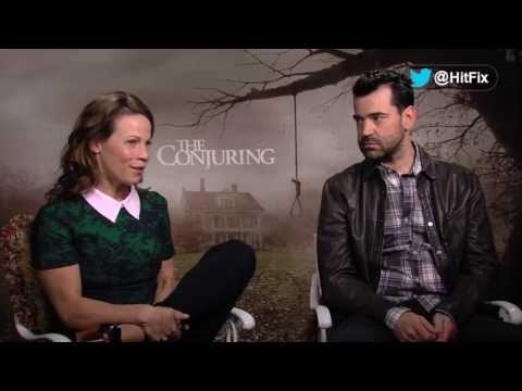 Ron Livingston and Lili Taylor discuss building a family in James Wan's 'The Conjuring'