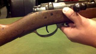 Antique German Mauser M71 Rifle Dated 1884 Manuf. In Amberg