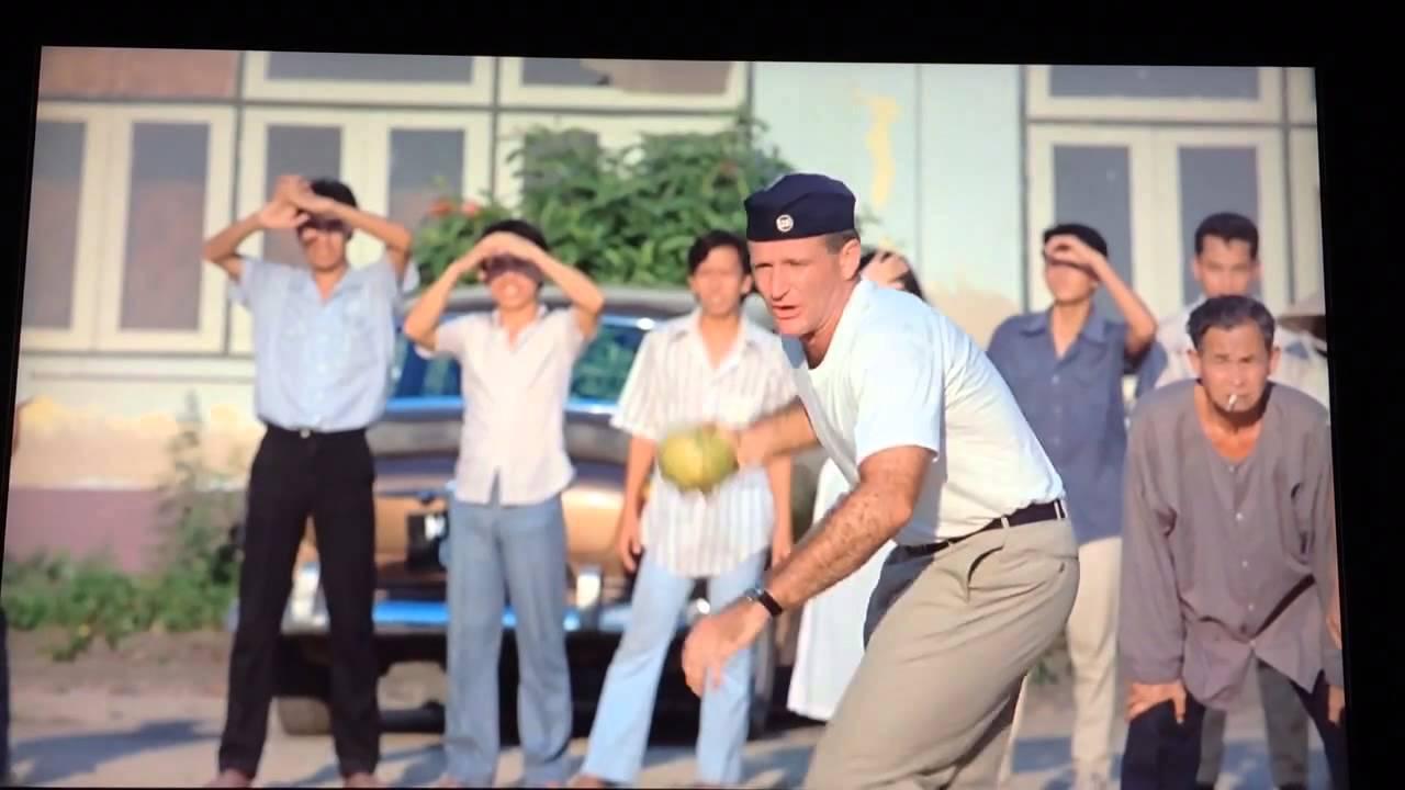 Good Morning Vietnam Playlist : Good morning vietnam baseball scene youtube