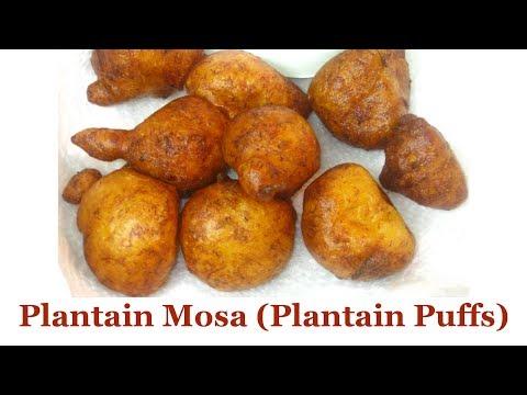 Plantain Mosa (Plantain Puffs) | All Nigerian Recipes