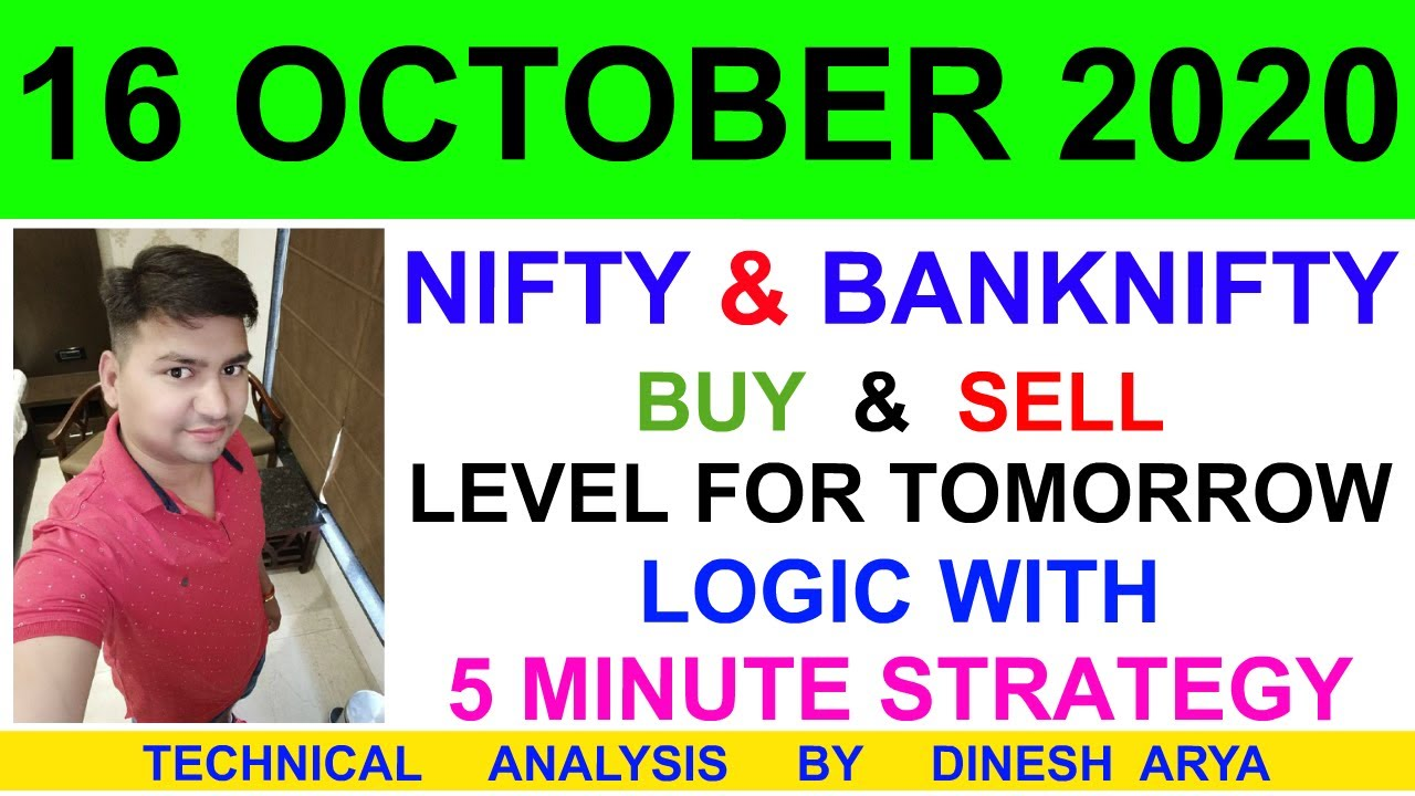 Download Nifty Prediction For Tomorrow & Bank nifty Analysis For 16 OCTOBER 2020   Option Chain Analysis