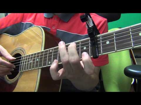 기타팝]빅뱅(Big Bang) If You 기타 코드 (acoustic guitar chords ...