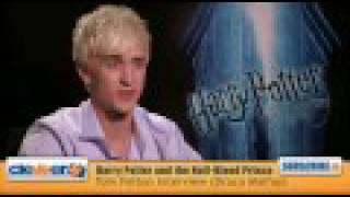 Tom Felton Interview Draco Malfoy From Harry Potter Half Blood Prince