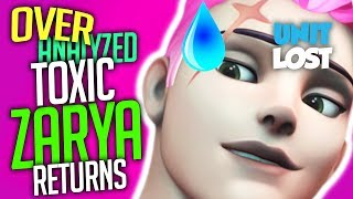 Overwatch Coaching - TOXIC TILTED Zarya RETURNS! - MASTER 3700 SR - [OverAnalyzed]
