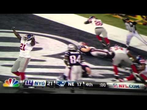 The Last Play Of Super Bowl 46 XLVI