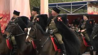 Спортсмены-конники Тюменской области приняли участие в Параде Победы 9 мая 2015 года