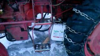 ремонт КПП трактора т 25 напрямні аставил на місці