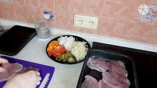 Свинина в духовке домашняякухня кухня рецепты мясопофранцузки отбивные Мясо Свининавдуховке
