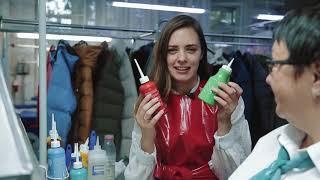 видео химчистка в москве одежды