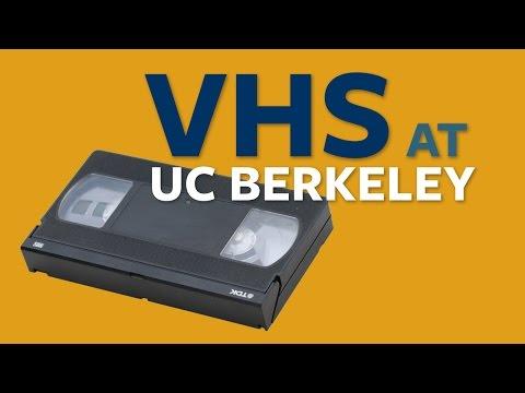 VHS Preservation & Playback at UC Berkeley