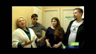 Интервью с артистами: Светланой Пермяковой, Юлией Куварзиной и др.